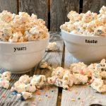 Marshmallow Funfetti Popcorn