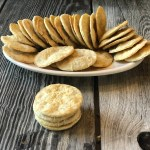 Parmesan Dill Homemade Crackers