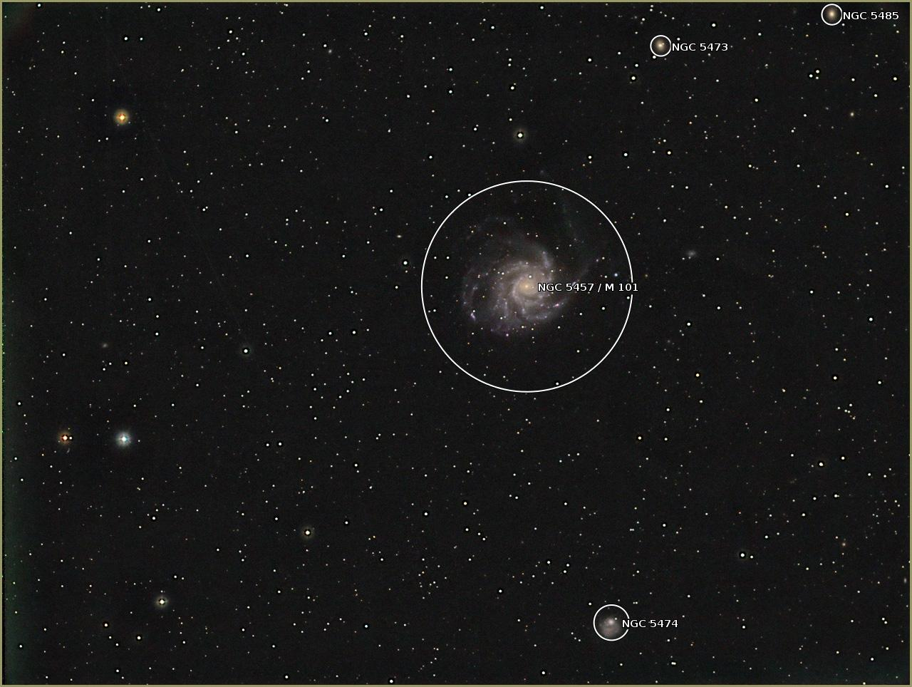 Plate solving images on the Raspberry Pi | Farnham Astronomical Society