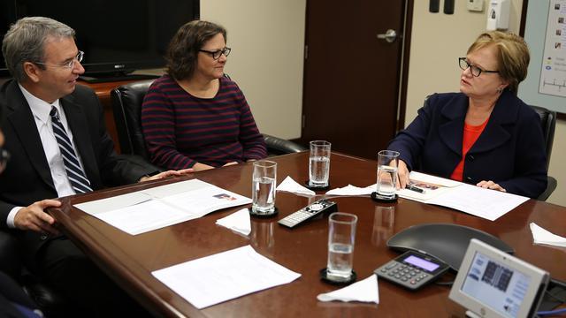 Esposa de Pedro Pablo Kuczynski se reunió con el élder Godoy