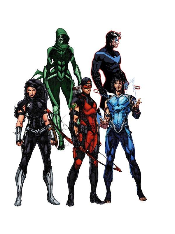 Rebirth: O renascimento da DC Comics - Titãs
