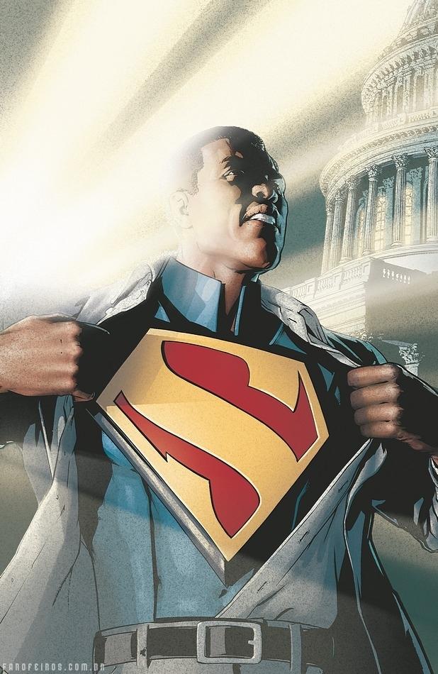 O Superman negro - DC Comics - Blog Farofeiros