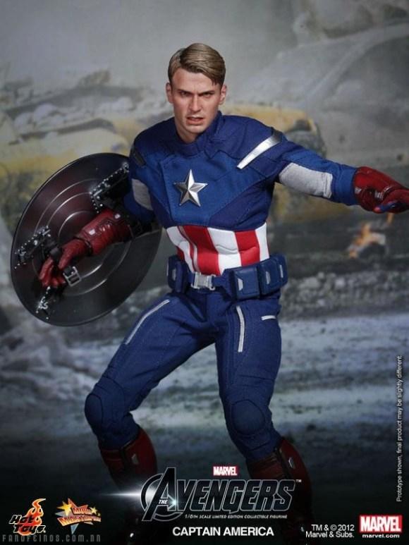 Capitão América da Hot Toys - Blog Farofeiros
