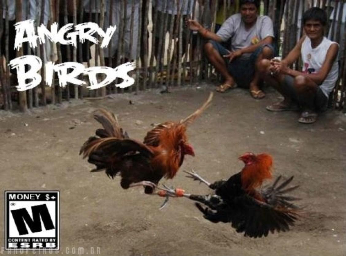 Angry Birds sem celular