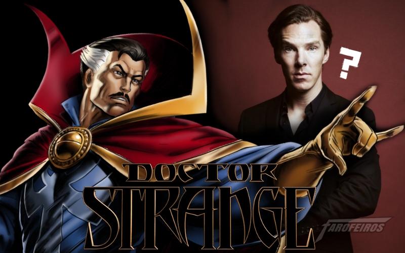 O que você precisa saber sobre os novos filmes da Marvel: Benedict Cumberbatch como Doutor Estranho