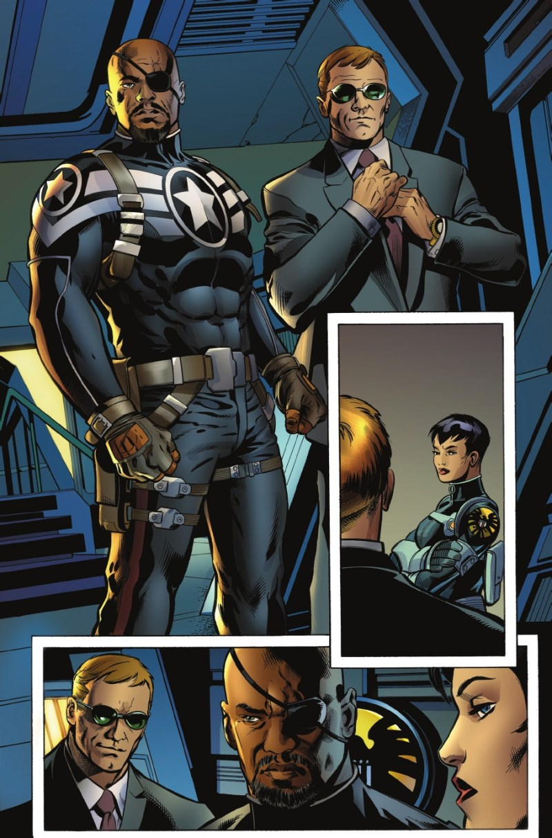 Nick Fury Jr e Agente Coulson integrados à Marvel Comics - Blog Farofeiros