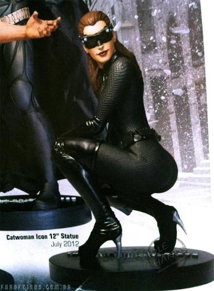 Anunciada a bunda da Mulher Gato pela DC Direct