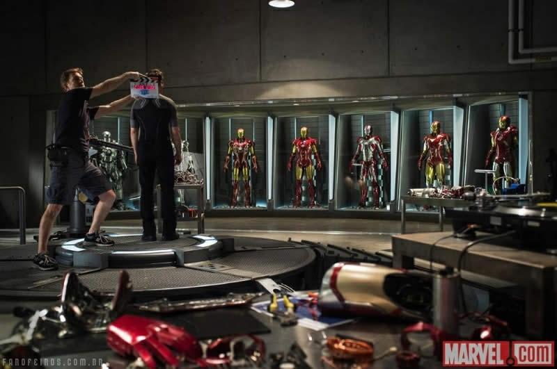 Homem de Ferro e sua coleção de armaduras - Blog Farofeiros