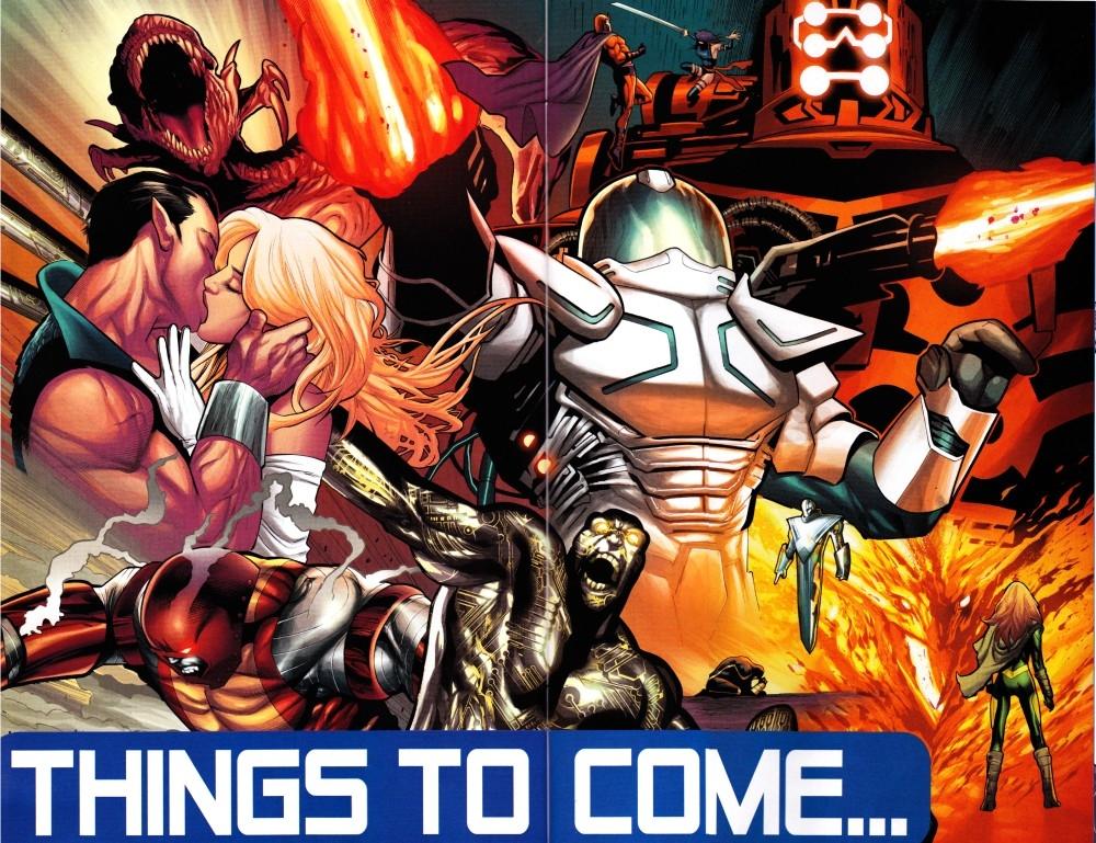 Imagem suspeita da Marvel Comics