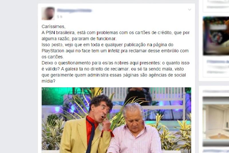 Ninguém consegue pagar nada na PlayStation Store!