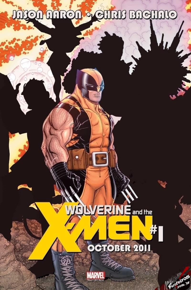 Teaser de Wolverine and the X-Men #1