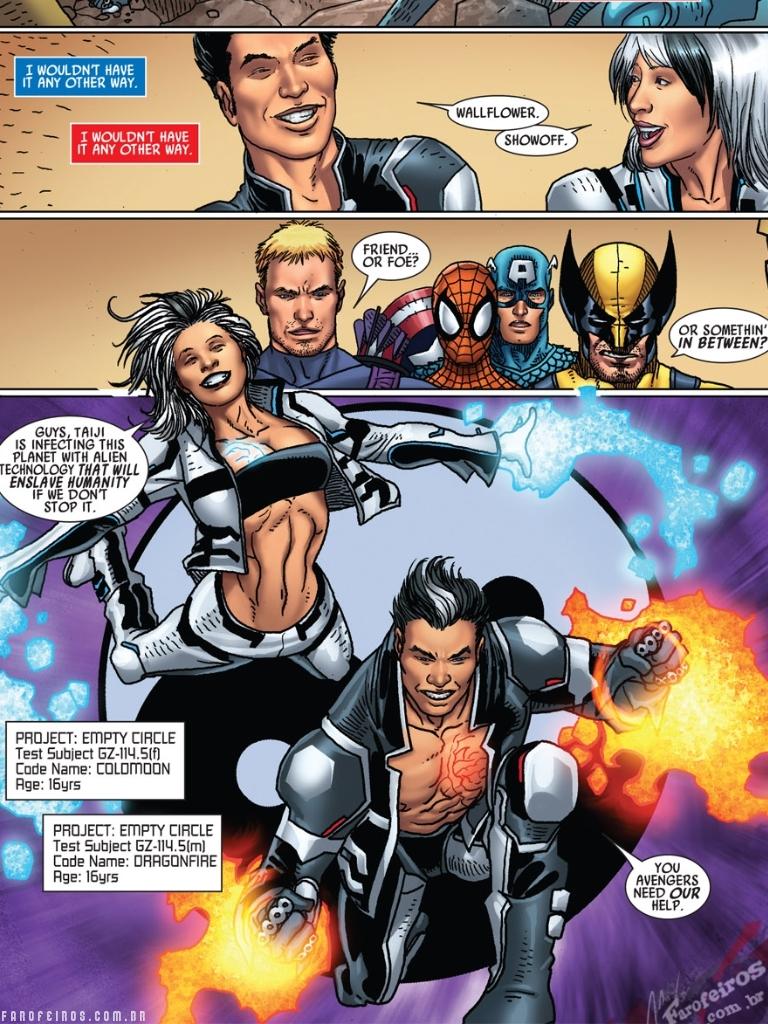 Não compre Point One #1 - Marvel Comics - Blog Farofeiros - Vingadores