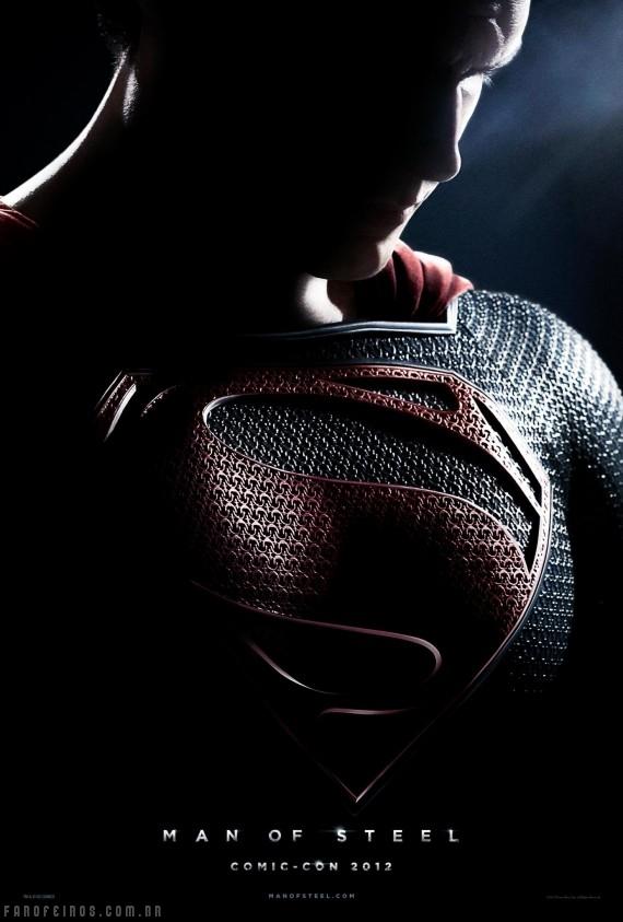 Man of Steel - Superman - San Diego Comic Con 2012 - Blog Farofeiros