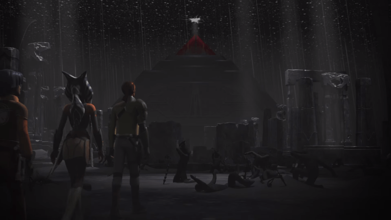Star Wars Rebels - Templo Sith