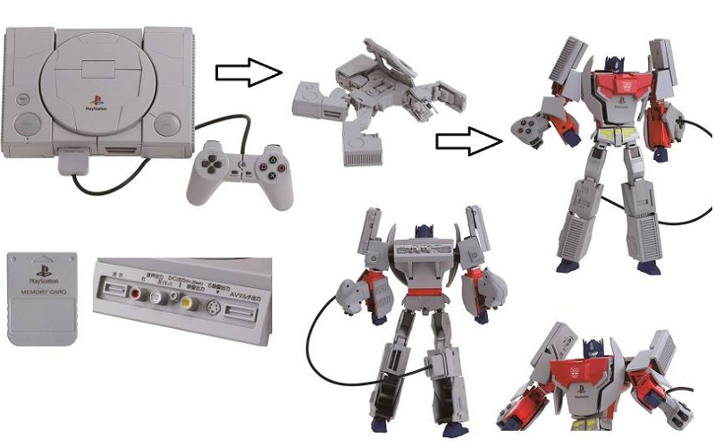 Transformers versão consoles de videogame