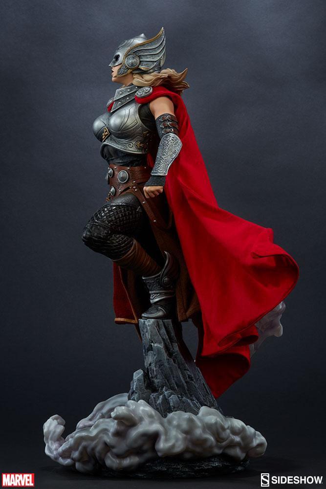 Thor - Jane Foster Premium Format da Sideshow - Blog Farofeiros