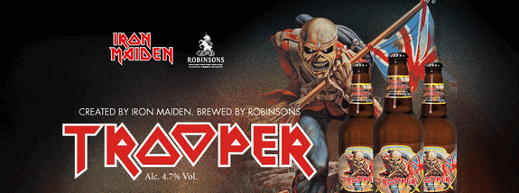 Trooper Ale: A cerveja do Iron Maiden
