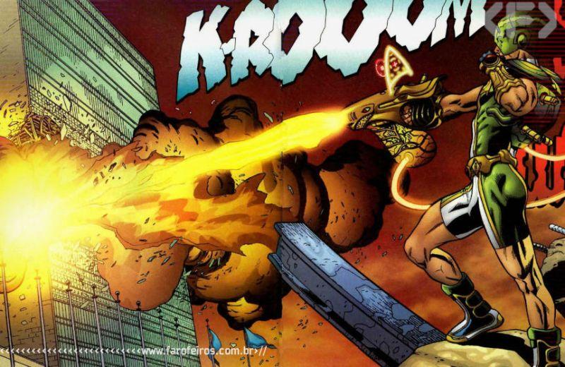 Marvel Boy - Noh Varr - Marvel Comics - Grant Morrison - Blog Farofeiros
