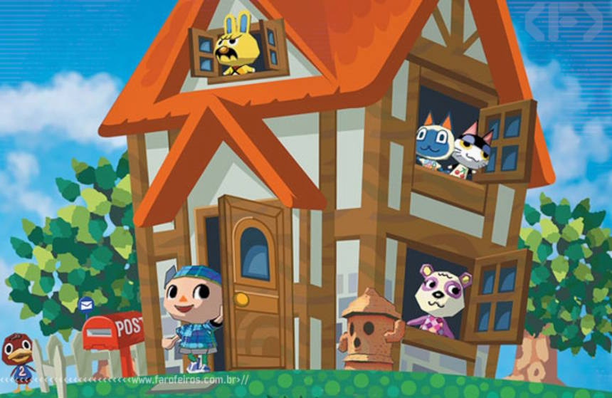 Animal Crossing - Game Cube - Blog Farofeiros