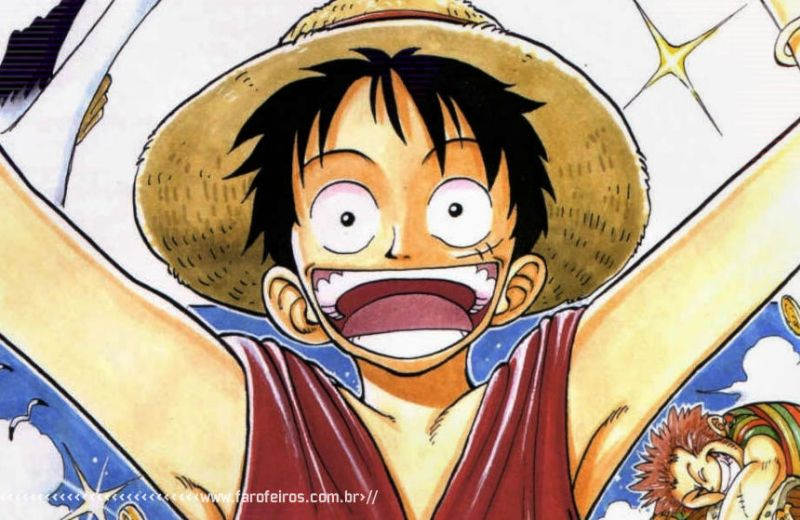 Super poderes ridículos - Ruffy - One Piece - Blog Farofeiros
