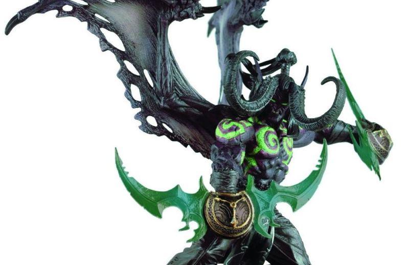 Illidan - World of Warcraft - Action Figure - Blizzard Store - Blog Farofeiros