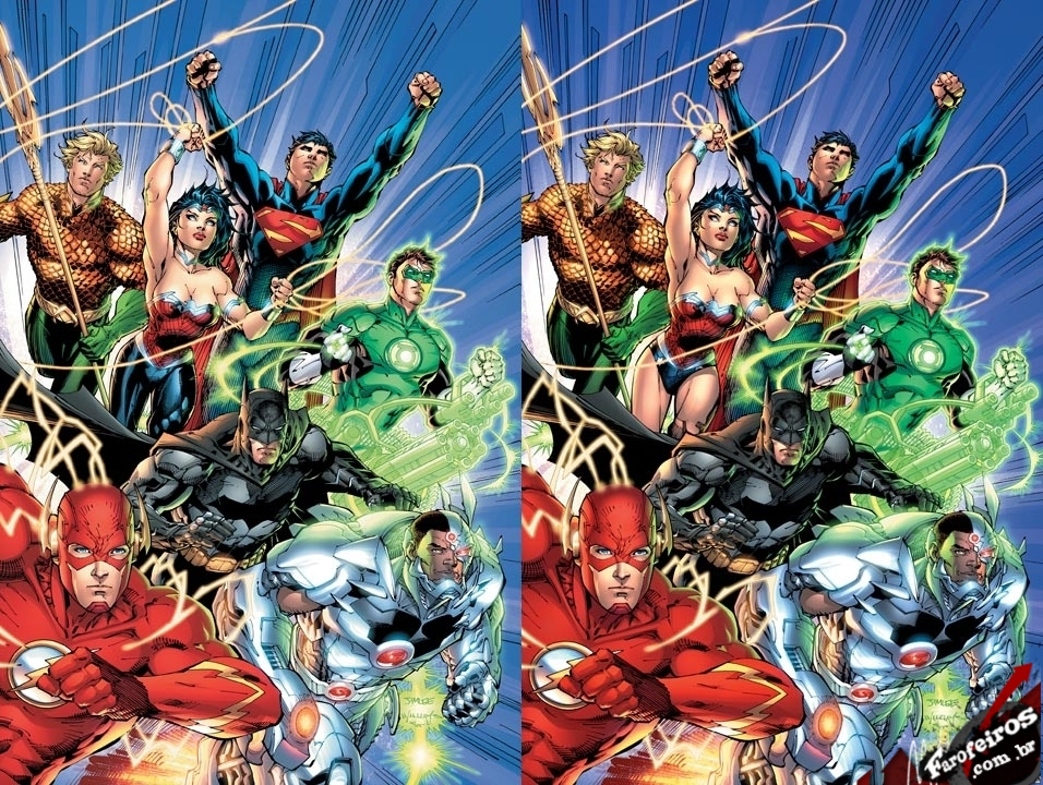 Liga da Justiça - Novos 52 - Liga da Justiça: Calças e cuecas