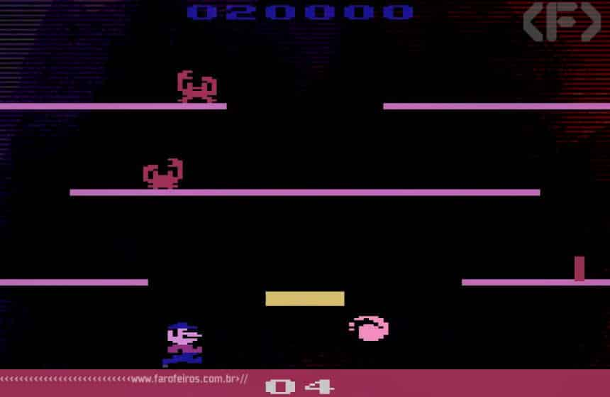 Propaganda de Mario Bros para Atari de 1983 - Blog Farofeiros