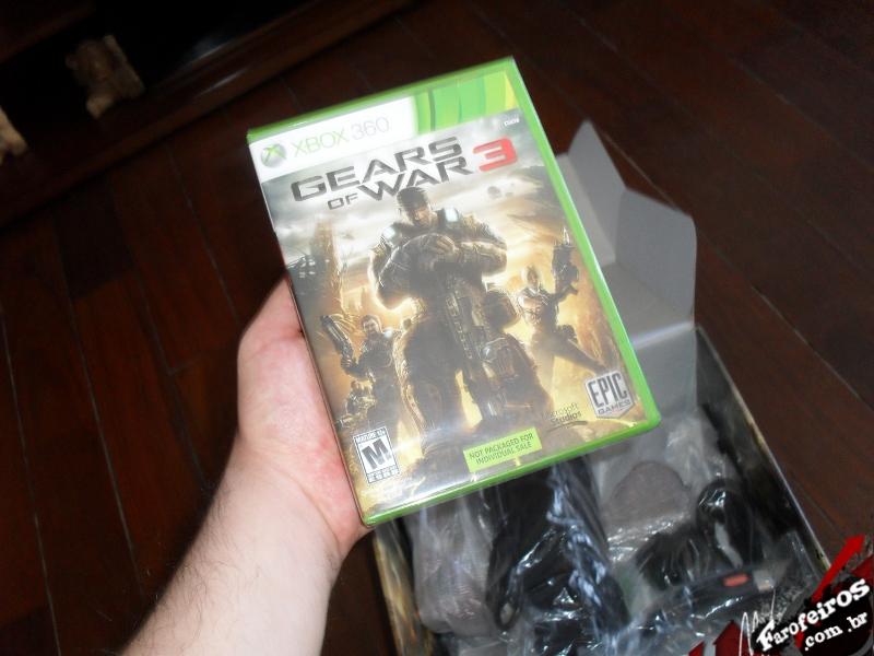 Xbox 360 edição especial Gears of War 3 - Blog Farofeiros