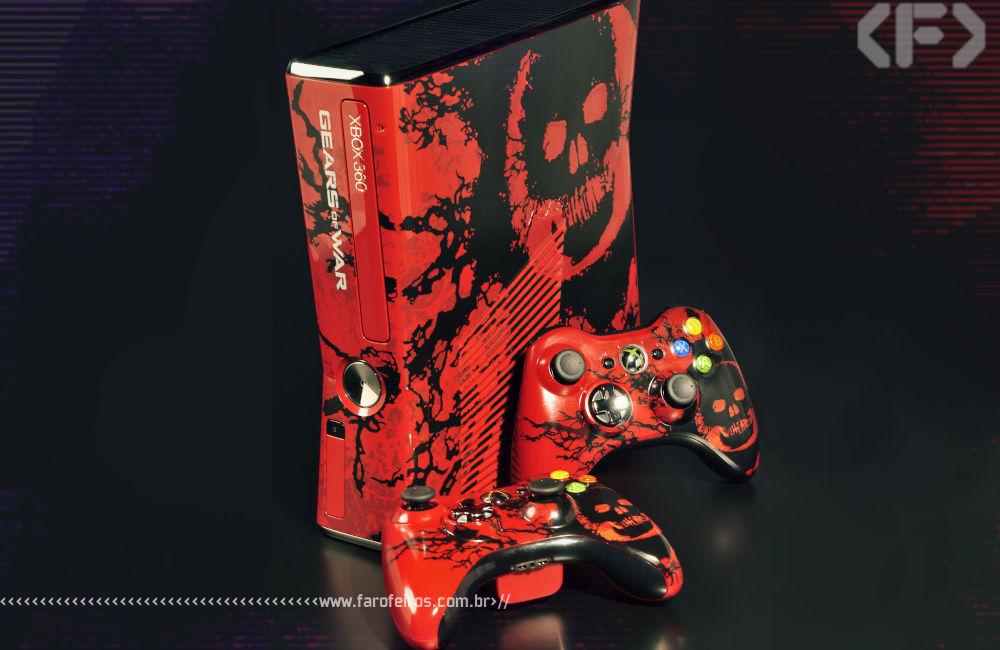 Meu Xbox 360 - Gears of War 3 - Edição Especial - Blog Farofeiros