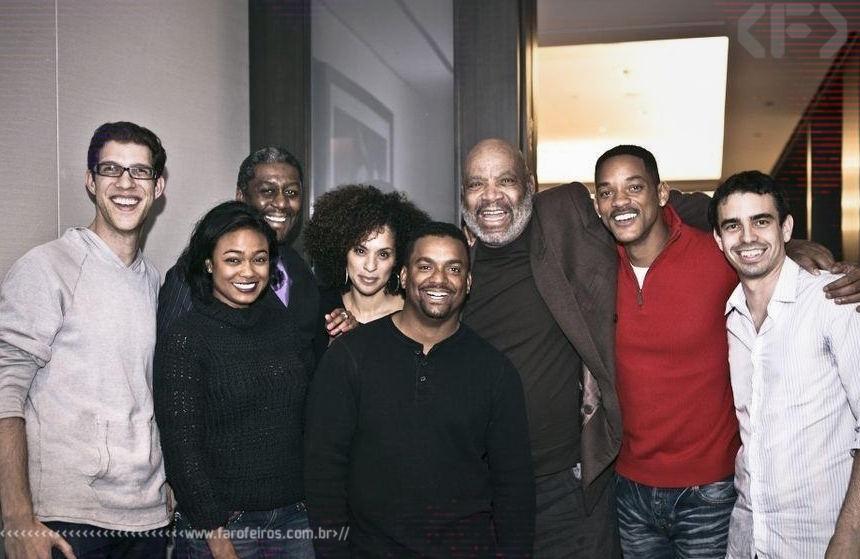 Reunião do elenco de Um Maluco no Pedaço - Will Smith - Alfonso Ribeiro - Blog Farofeiros