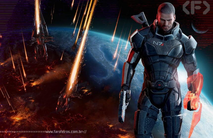 Mass Effect 3 - Commander Shepard - Blog Farofeiros