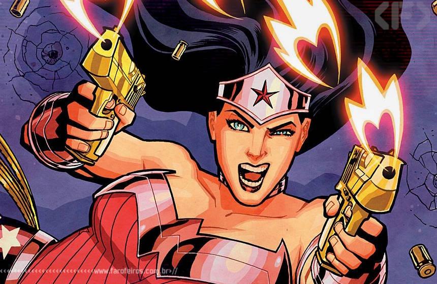 Mulher Maravilha armada e perigosa - Blog Farofeiros