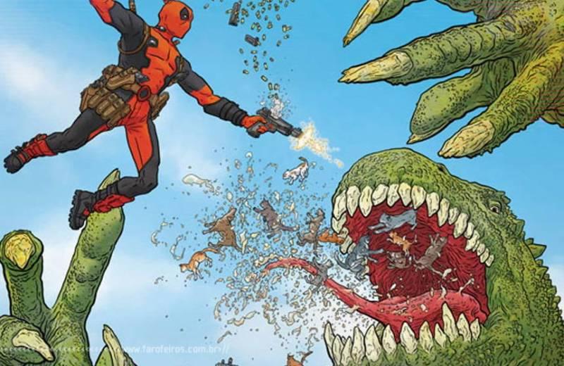 Deadpool - Marvel NOW - Marvel Comics - Blog Farofeiros