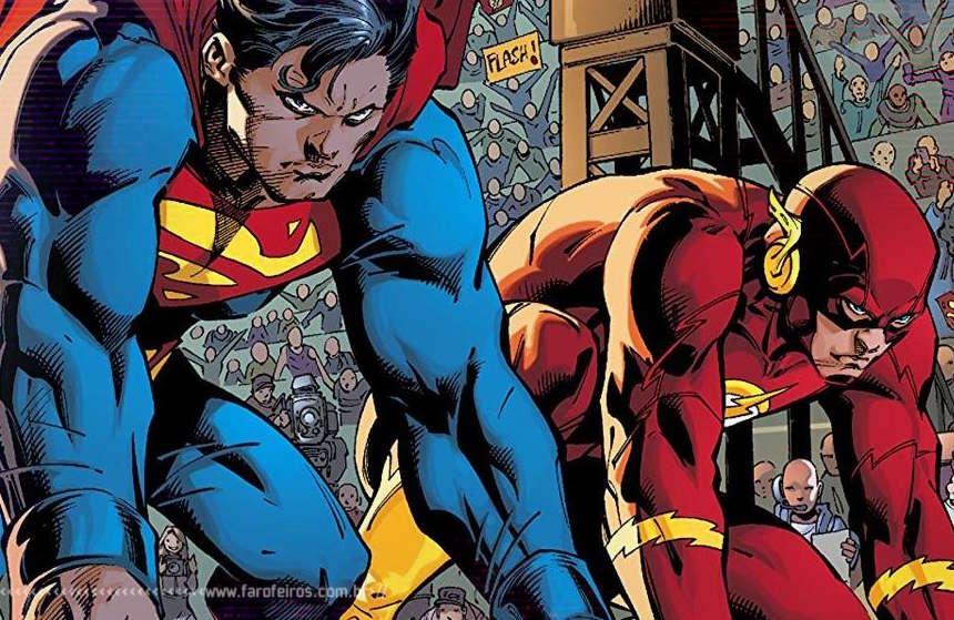 Flash vs Superman - Blog Farofeiros