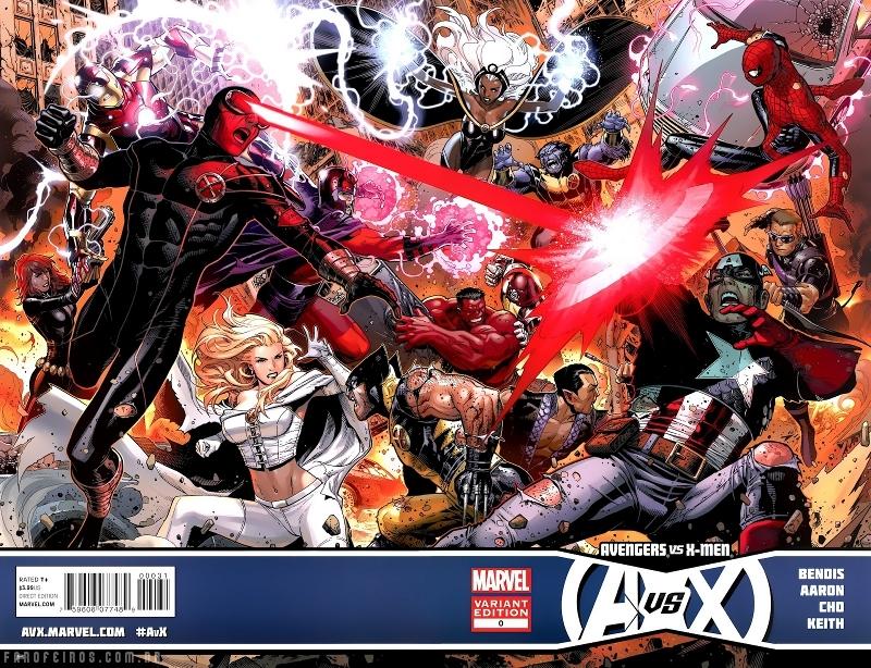 Vingadores Vs X-Men - Disney comprando a Fox - Vingadores vs X-Men - Avengers Vs X-Men #7 - Vingadores vs. X-Men