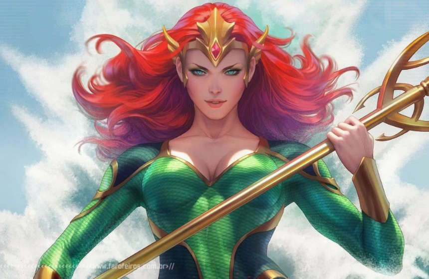Mera - DC Comics - Blog Farofeiros