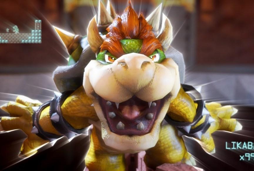 Super Mario vs Bowser - Primeira Pessoa
