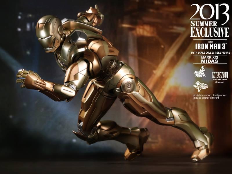 Homem de Ferro Mark XXI Midas da Hot Toys