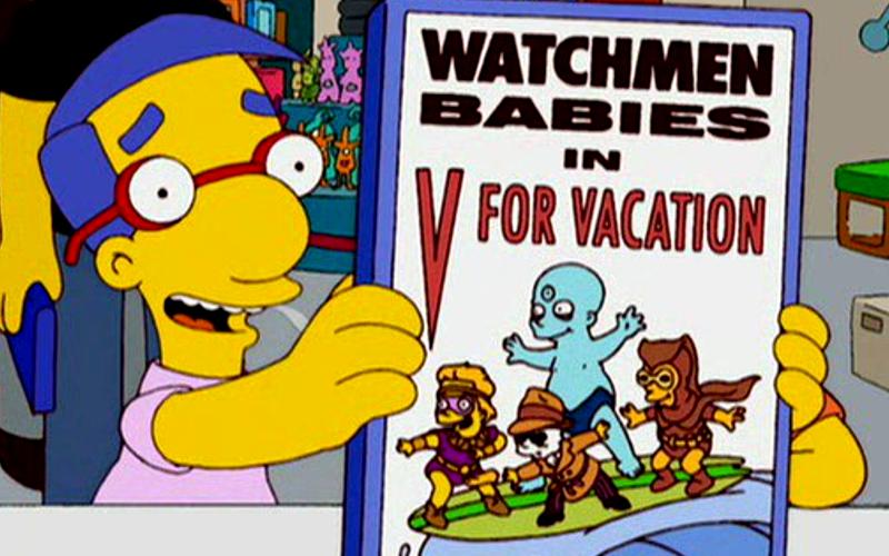 Será que o Alan Moore assiste Simpsons - Blog Farofeiros