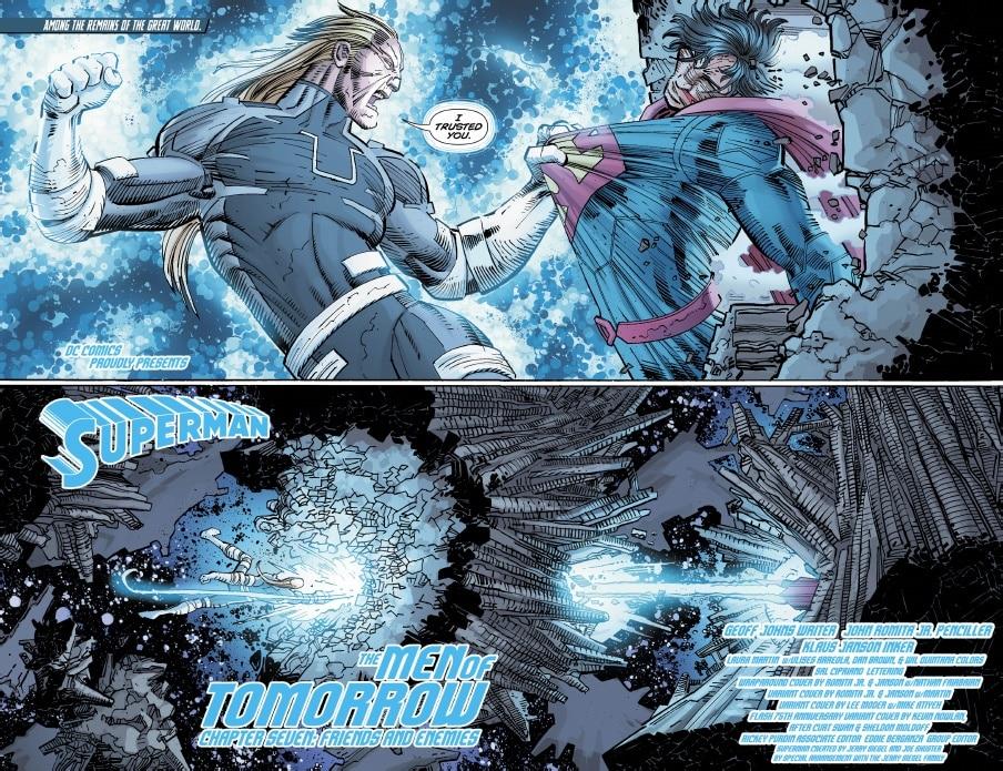 Superman ganha novo super poder - Blog Farofeiros