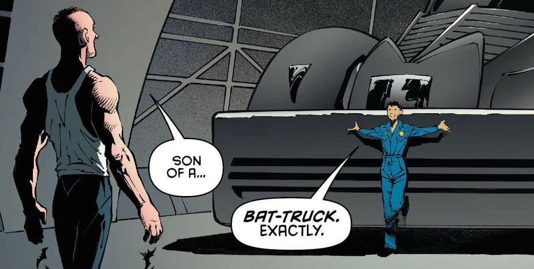 Bat Caminhão - Batman de Caminhão - Blog Farofeiros