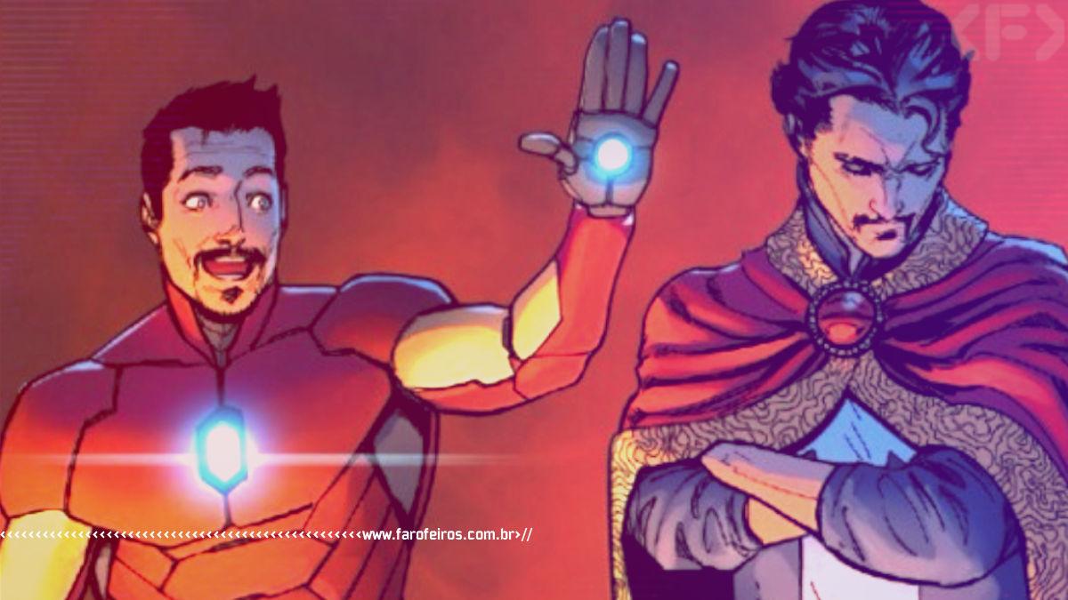 Homem de Ferro e Doutor Estranho são os Manos dos Pelos Faciais - Blog Farofeiros