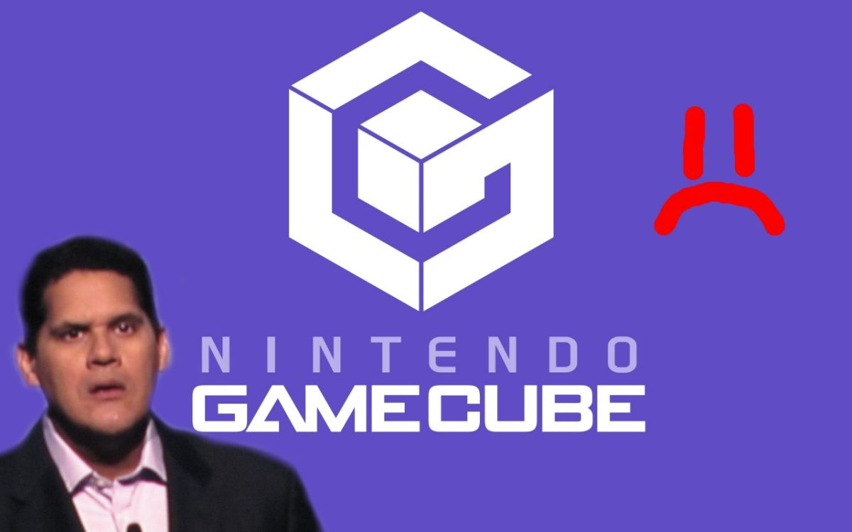 GameCube da Nintendo Triste