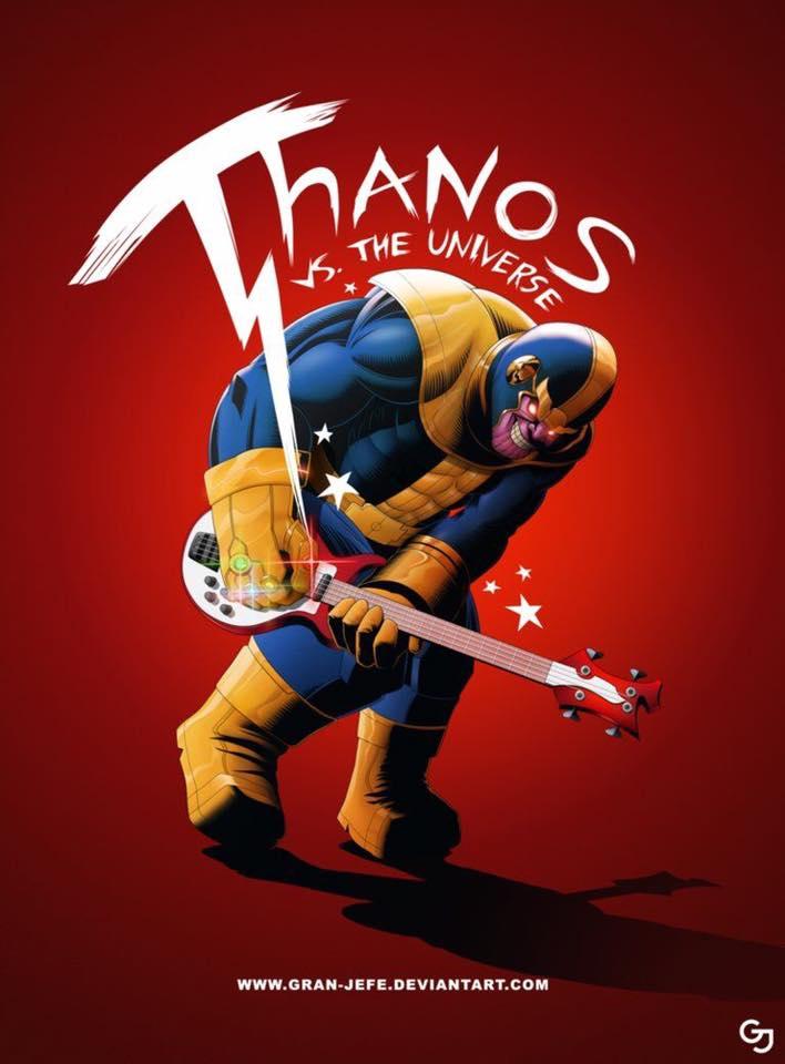 Thanos contra o universo