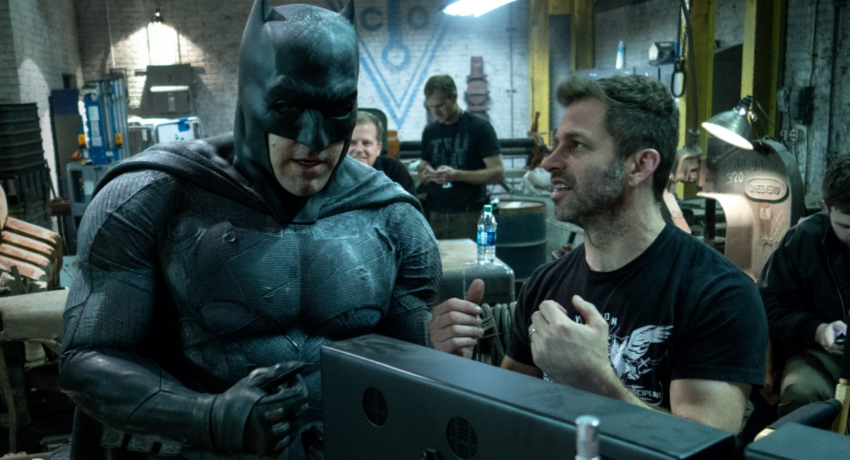 Batman - Ben Affleck e Zack Snyder