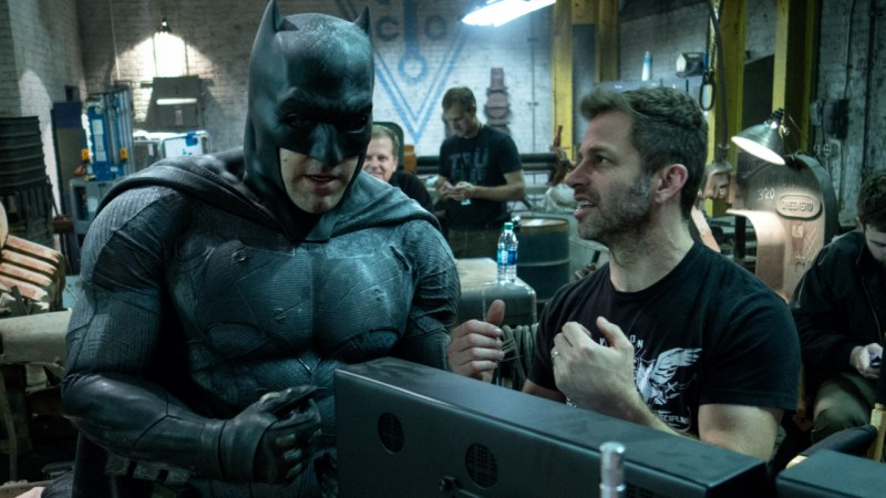 Batman - Ben Affleck e Zack Snyder