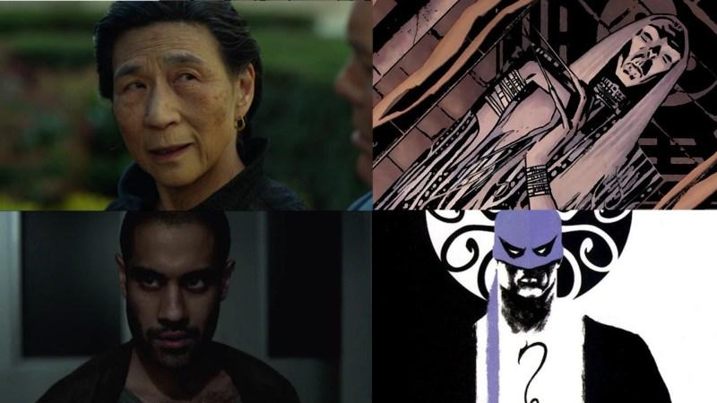 Punho de Ferro do Netflix - Vilões na série e nos quadrinhos: Madame Gao e Davos