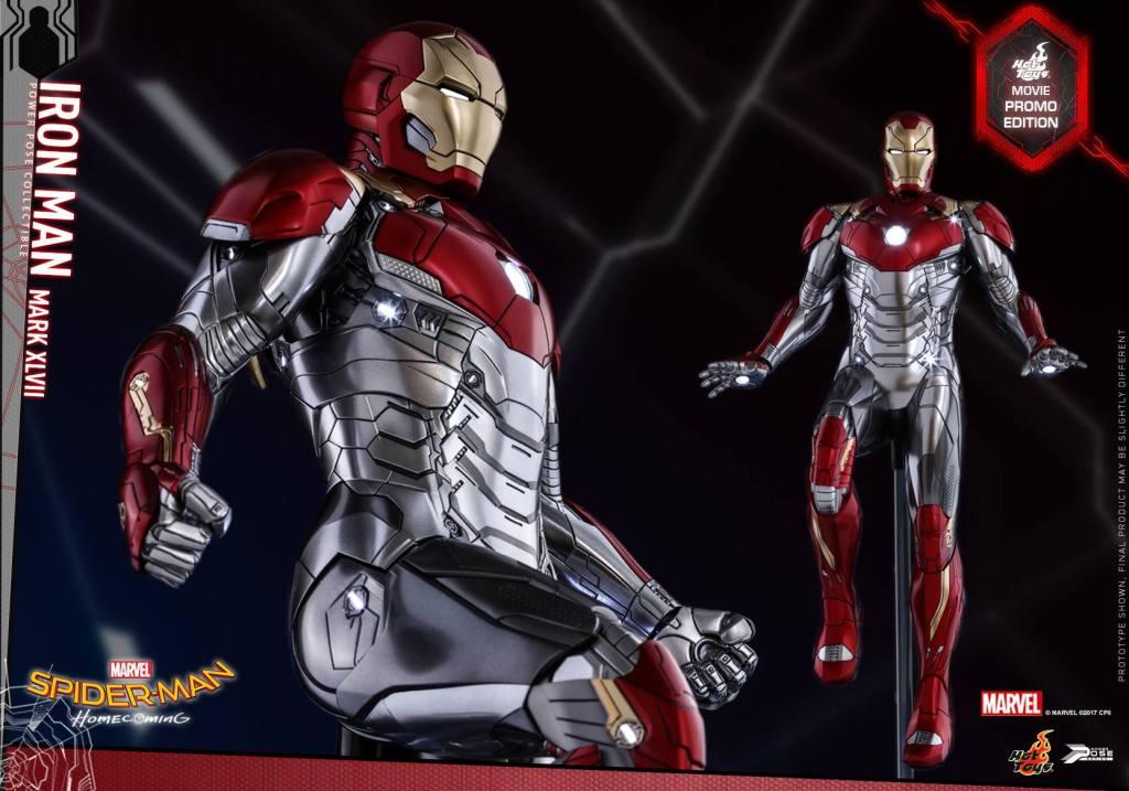 Hot Toys: Homem de Ferro de Homem Aranha De Volta ao Lar