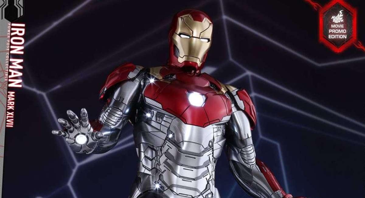 Hot Toys - Homem de Ferro de Homem Aranha De Volta ao Lar