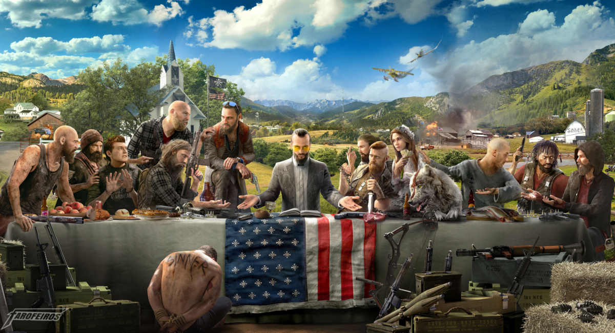Estou apaixonado por Far Cry 5 - Stream de Far Cry 5